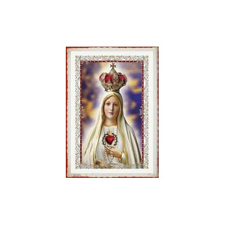 1471 - VELON ORACION VIRGEN DE FATIMA