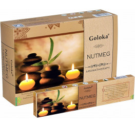 Incienso Spa Goloka Nuez Moscada- 58654